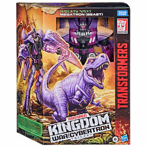 Transformers Generations WFC: Kingdom Leader WFC-K10 Megatron (Beast) Figure
