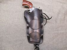Western Cowboy 45 Peacemaker Double Loop Holster No Tooling