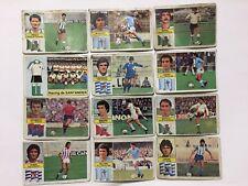 12 CROMOS LIGA 82 83 EDICIONES ESTE FUTBOL FOOTBALL SOCCER