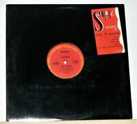 "Santana - Say It Again - 1985 12"" Promo Single Record - Vinyl Excellent"