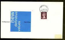GB Definitives FDC, 15th Jan 1975 Stratford Upon avon FDI #C1023