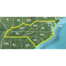 Garmin Topo U.S. 24k Map Mid-Atlantic De, Md, Wv, Va, Ky, Tn, Nc, & Sc