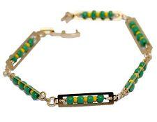 Mano de Orula 7.5 Bracelet 18k Gold Plated  - Mano de Orula Bracelet 7.5 inch
