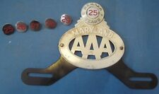 AAA License plate attachment tab for years 25-29 tab only