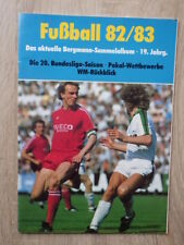 No PANINI Album BERGMANN FUSSBALL 1982-1983 82/83 Bundesliga FOOTBALL Germany