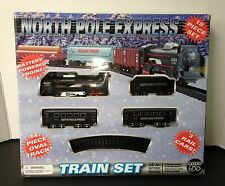 North Pole Express 18 Piece Train Set - Battery Operated -  Brand New