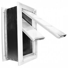Endura Pet Door Wall Mount From Patio Pacific Extra Large Dual Flap White  sc 1 st  eBay & Patio Pacific Dog Doors u0026 Flaps | eBay