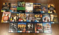 BLU-RAY & DVD BULK SET OF 19 MOVIES/ SHOWS ASSORTED (34 DISCS - 4 OF 19 SEALED)