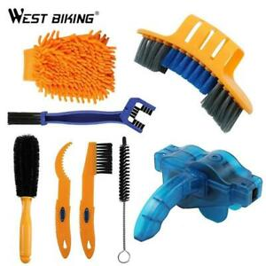 New Bike Chain Cleaner Machine Cycling Kit Bicycle Mountain Road City Brush Tool