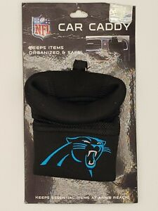 Fanmats NFL Carolina Panthers Embroidered Car Caddy Cell Phone Holder