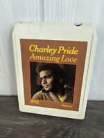 8 Track Tape Pop Country Folk Music Charley Pride Amazing Love RCA Record Tested