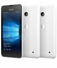Microsoft Nokia Lumia 550 White* 4G Windows 10 Phone*  unlocked*New Condition