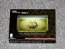 Nintendo 3DS XL Legend of Zelda: Majora's Mask Limited Edition Console Brand New