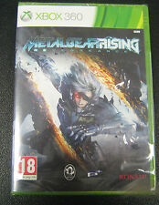 METAL GEAR RISING REVENGEANCE  XBOX 360  PAL IMPORT SIGILLATO