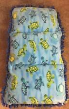 Homemade Fleece Caterpillar Bed/Chair - Turtles
