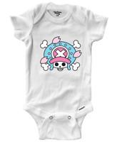Infant Gerber Onesies Bodysuit Baby Shower Gift Chopper Jolly Roger Pirate Flag