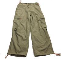 Trans Nine Men's Khaki Cargo Hiking Pants Size 32x30