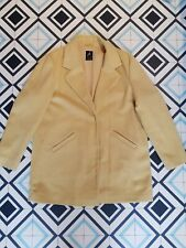 Primark Atmosphere Yellow Duster Coat Uk14