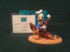 """WDCC Hawaiian Holiday - Donald Duck """"Tropical Tempo"""" + Box & COA"""