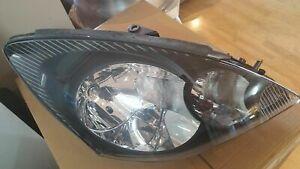 Headlight suit Mitsubishi Magna TL / TW Verada KL / KW RHS BLACK - NEW GENUINE -