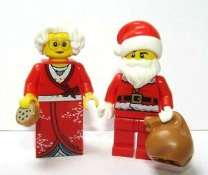 Lego Santa Claus & Mrs Christmas Minifigure Advent Xmas Stocking Filler