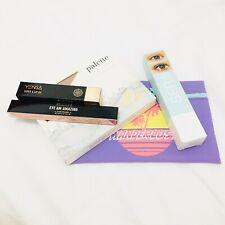Ipsy Glam Bag With Makeup, All New, Mascara, Eyeliner, Lip Oil And Palette
