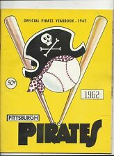 1962 Pittsburgh Pirates Yearbook excellent-near mint condition (see scan)