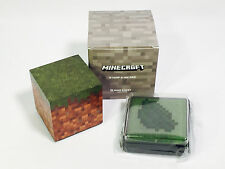 Rare Minecraft Grass Stamp and Ink Pad PLAINS Loot Crate Mine Chest EXCLUSIVE