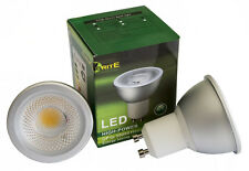GU10 7W Dimmable LED Bulb SHARP COB LED's, Warm, Achieve 99% of Halogen Lighting