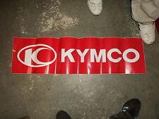 Aufkleber Kymco 1 m Groß