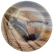 Davenport train plate Queen Of Scots by Paul Gribble Great Steam Trains