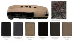 Ford Specialty Dash Cover Custom Fit - Tech Fabric Camouflage Suede Fabrics SPFD
