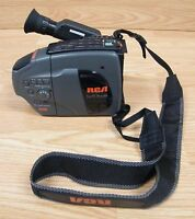 RCA (CC176) Small Wonder VHS Playback Camcorder With Strap Bundle **READ**