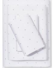 Project 62 + Nate Berkus 300 Tc Khaki Dots Modern Solid/Printed Sheet Set Queen