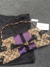 Authentic Vintage Tom Ford For Gucci Horsebit Ladies Shoulder Evening Bag