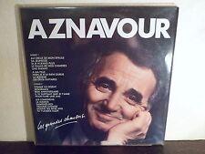 """2 LP 12"""" CHARLES AZNAVOUR - Les grandes chansons - NM/MINT - TREMA - 310 311/312"""