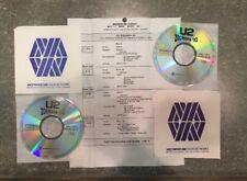 U2 Zooropa Westwood One Radio Special # 93-34 with Cue Sheet - 2 CD Set RARE !!
