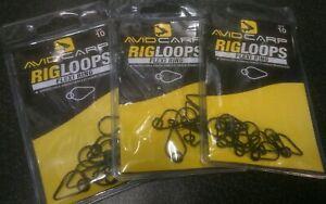 Avid Carp Rig Loops Flexi Ring x 3 packs