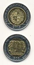 Uruguay - 10 Pesos 2015 UNC - Bimetall, Gedenkausgabe