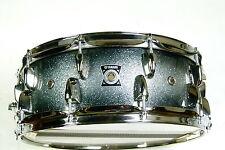 "Yamaha Oak Custom Snare Drum 14x5,5"" Silver / Caisse Claire Rullante Tamburo"