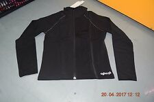 Black Agiva Ice skating thermal warm up jacket - 4600 - Age 12