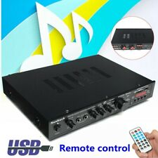 1200W bluetooth HiFi Stereo Amplifier 5CH Tuner Remote Mic Input misic Improver