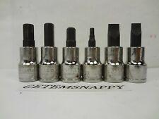"1/""6Pt Shallow 3//8/""Drive Supertorque High Polished Chrome USA Socket B-632"