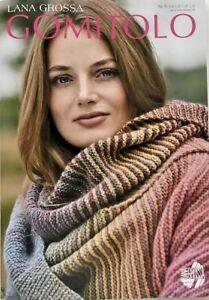 GANZ NEU Gomitolo Heft Nr.8 Lana Grossa 25 Anleitungen Farbverlauf Modelle