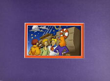 SCOOBY DOO GANG - CALM BEFORE The STORM PRINT PROFESSIONALLY MATTED