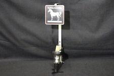 WHITE HORSE CELLAR Scotch Whisky Liquor Bottle Shot Dispenser w/Vise Table Mount