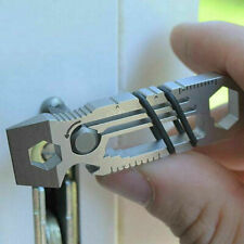 Tiny Ratchet Multi-Tool Key Chain 6 in 1 KeyChain Keyring Bottle Opener