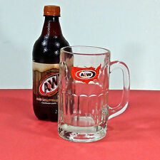 1970's A&W Root Beer Glass Mug, Original Collectors Item, Vintage