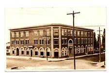 Grangeville, Idaho ~ Imperial Hotel & Street View, Real Photo Pc ~ c. 1910-20