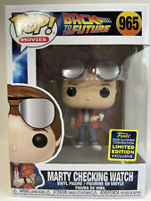 Funko Pop! Back To The Future - Marty Checking Watch #965 2020 Summer Convention